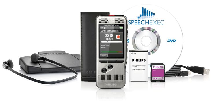 PHILIPS DPM 6700 DPM4 Starter Kit - Grafimedia. Never miss a word, again!