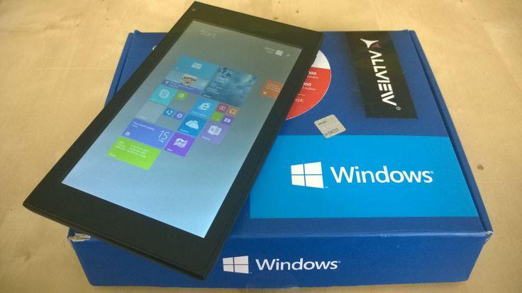 Allview WI7 tablet - a legolcsóbb Win-tablet.