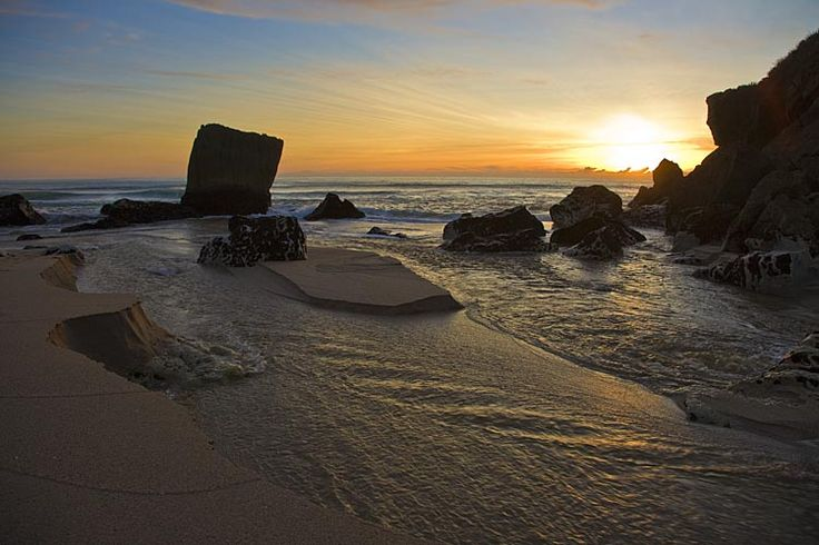 Karamea sunset, see more, learn more, at New Zealand Journeys app for iPad www.gopix.co.nz