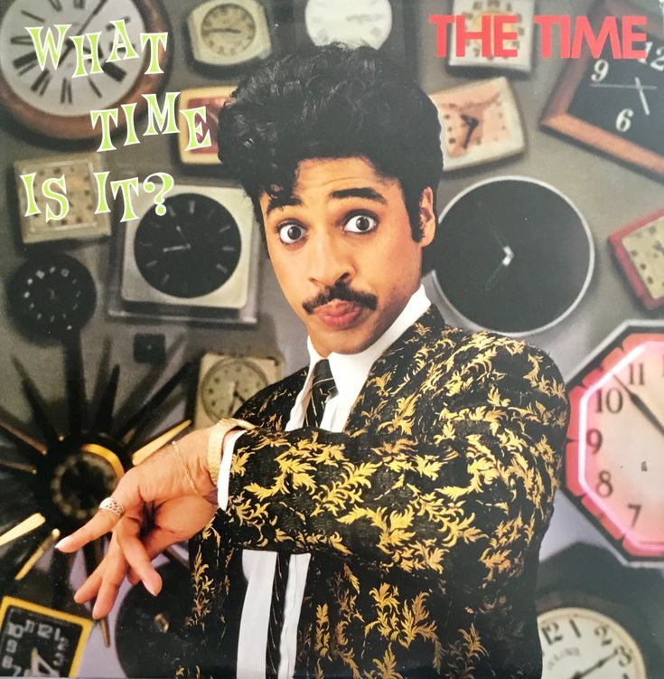 LP The Time 1982  what time is it