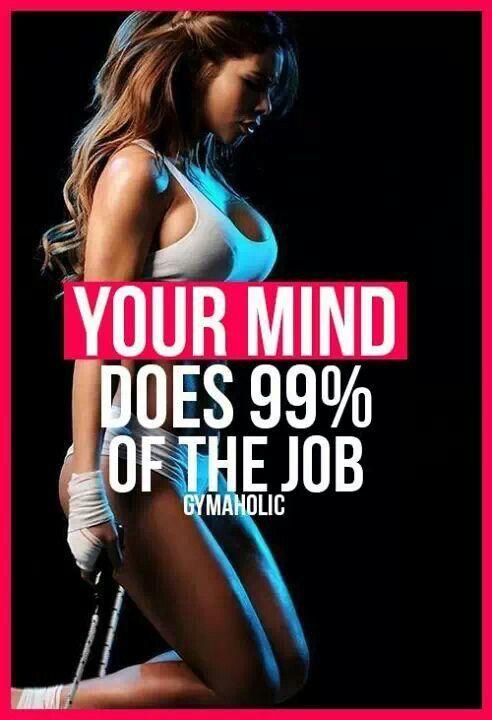 Mind over matter * motivstion fitspo