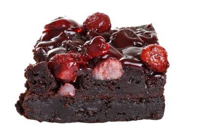 Saskatoon Berry port fudge brownies | Calgary Farmers' Market