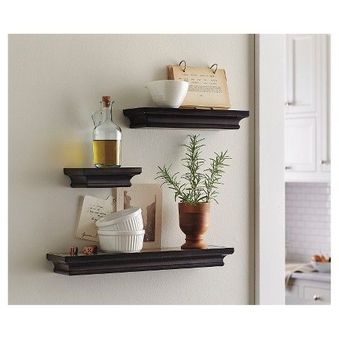 Threshold Floating Shelves Awesome 10 Best Shelving  Storage Images On Pinterest  Shelves Shelving Inspiration Design