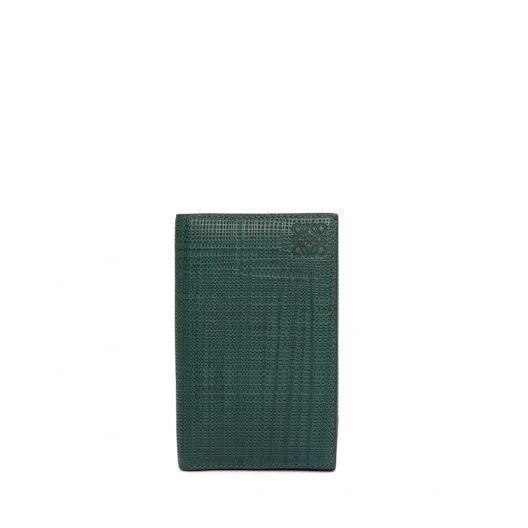 ロエベ Card Holders - BUSINESS CARD HOLDER - ダークグリーン
