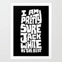 Jack White Hoody by Chris Piascik   Society6