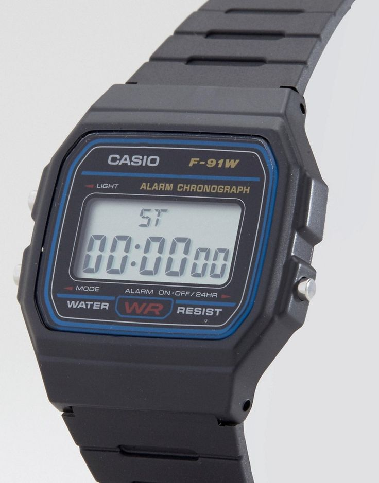 Casio Classic Digital Watch F-91W-1XY - Black