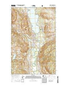 ~ Oroville WA topo map, 1:24000 scale, 7.5 X 7.5 Minute, Current, 2014