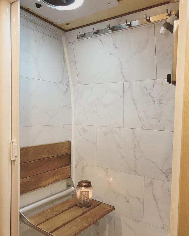 Note Shower Shower Camper Conversion Getting Wet