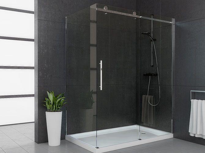 42 shower shower bases door shower doors rt top doors corner shower ...