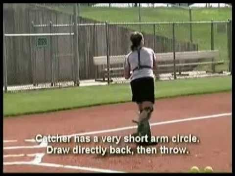 Catcher's Softball Workout - YouTube