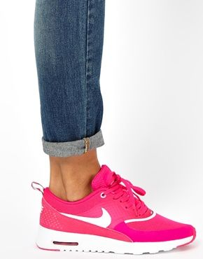 Nike Air Max Thea Pink And White