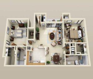The 25+ best 1000 sq ft ideas on Pinterest | Tiny house plans ...