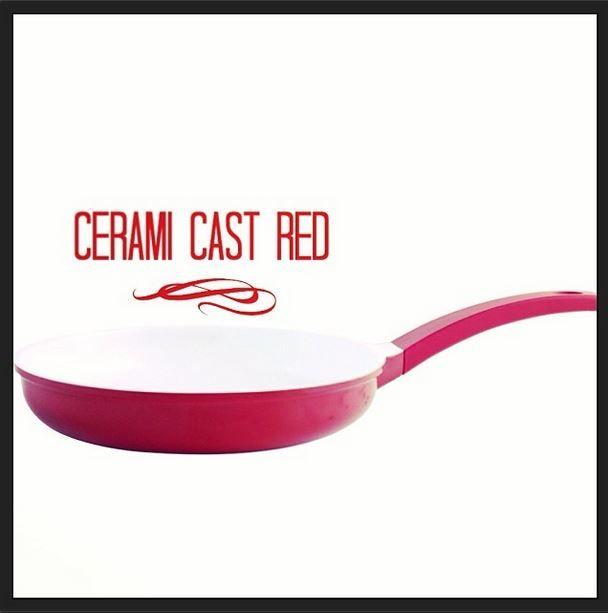 En el #diadelpadre no puede fallar un #chuletón hecho en una #sartén #cerami cast #red o #classic #cast :) #menaje #hogar #cocina #colors #gastronomia #sartenes #utensilioscocina