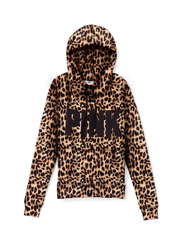 Cheetah print hoodies