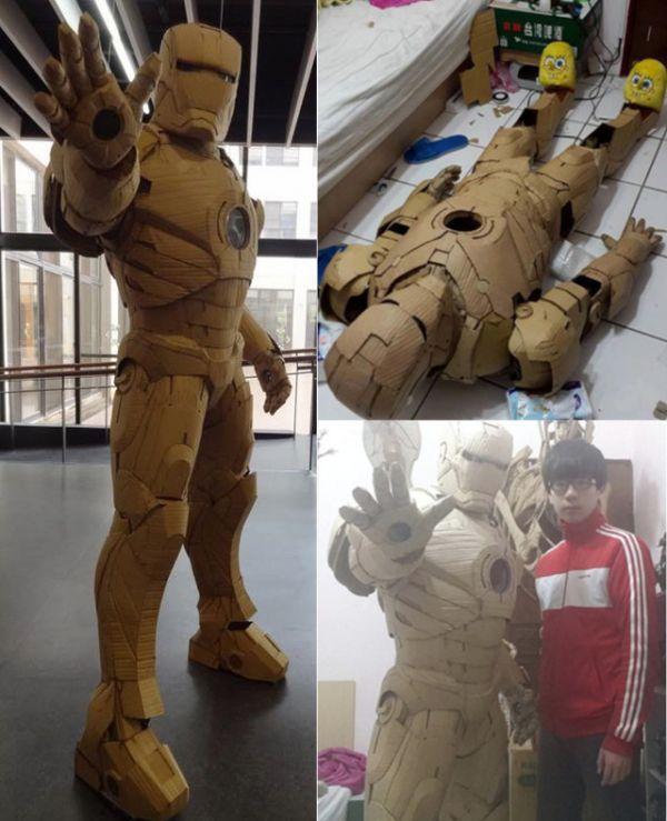 Full Cardboard Suit Of Iron Man Armor