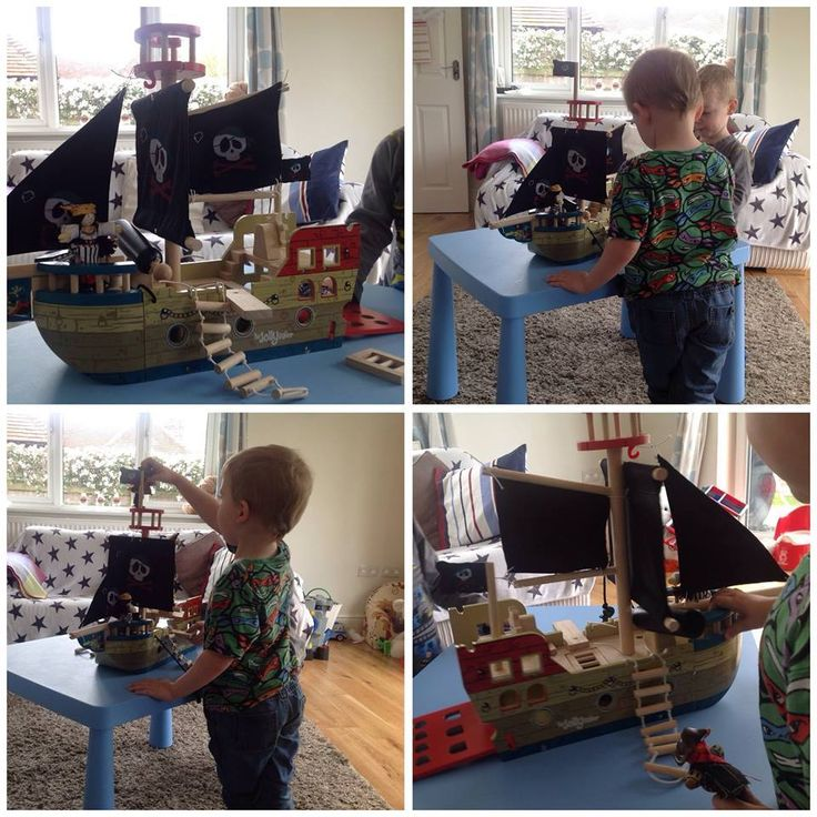 Here are some of our previous winners with their Pirate Ship Prize!