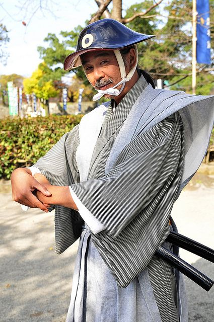 The Grand Kumamoto Castle | A Samurai welcoming you at the e… | Flickr