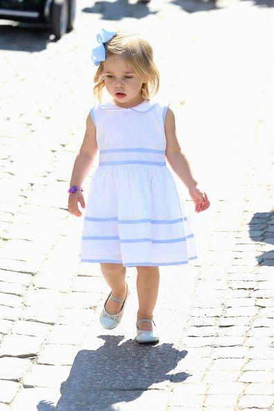 Princess Leonore of Sweden is seen visiting Gotland Museum on June 3, 2016 in Gotland, Sweden