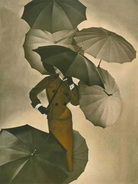 """""""Umbrellas - photo by George Hoyningen-Huene [1950]"""" What a great photograph, love it. S."""