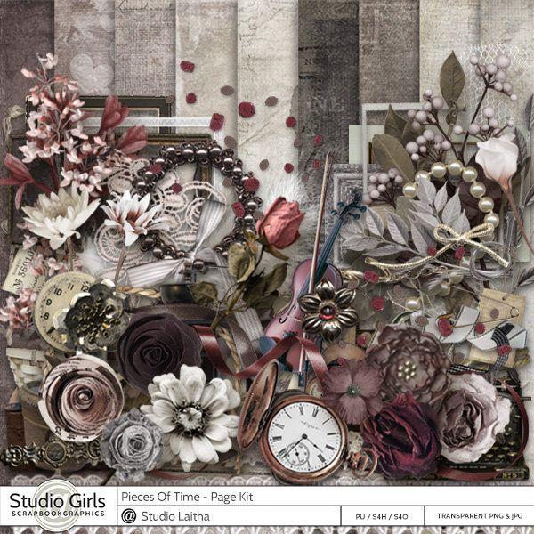 Pieces of Time by Laitha's Design  Available @ http://shop.scrapbookgraphics.com/Laitha/