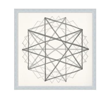 $300 - Neutral Sacred Geometry Framed Print 2 #potterybarn