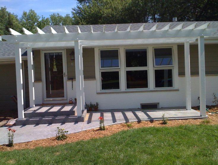 25 best ideas about front porch pergola on pinterest pergola roof patio ceiling ideas and front porch deck - Patio Home Designs