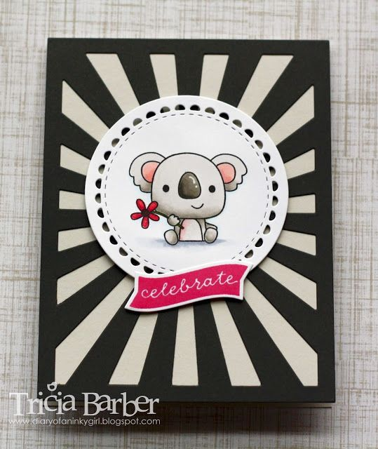 Diary of an Inky Girl…: Reverse Confetti - Bear Hugs