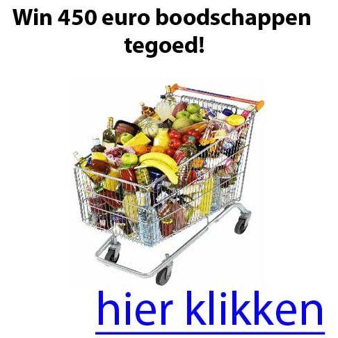 Gratis Waardebon 450 euro voor Boodschappen - Gratis Prijzen Winnen