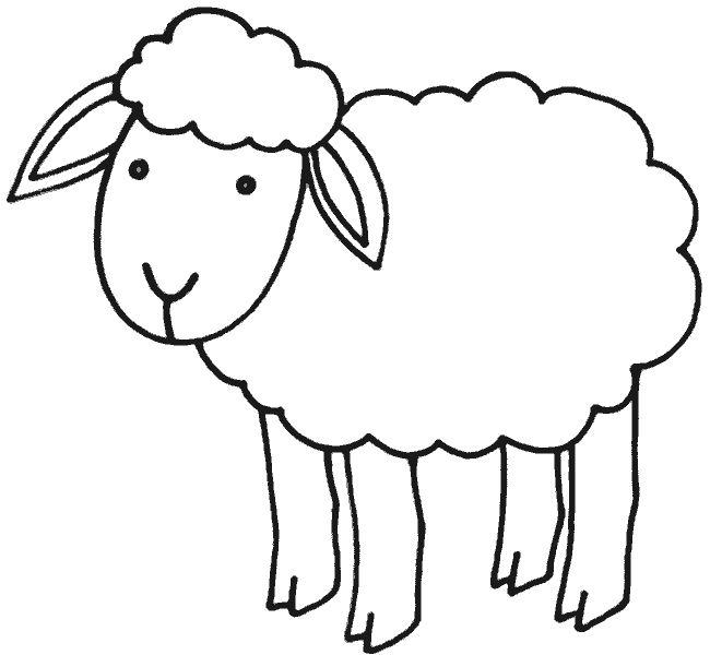 Schaf Malvorlagen zum Ausdrucken - 1Ausmalbilder