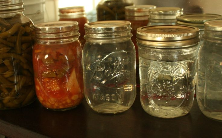 Consider canning some water for emergencies.  Now why didn't I think of that?