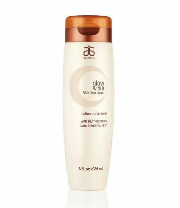After a day of fun in the sun, use our hydrating Glow With It lotion to help keep skin hydrated and minimize peeling. Shop now at www.arbonne.ca  ID#116380073. #arbonne #sun #sunscreen #glow #lotion