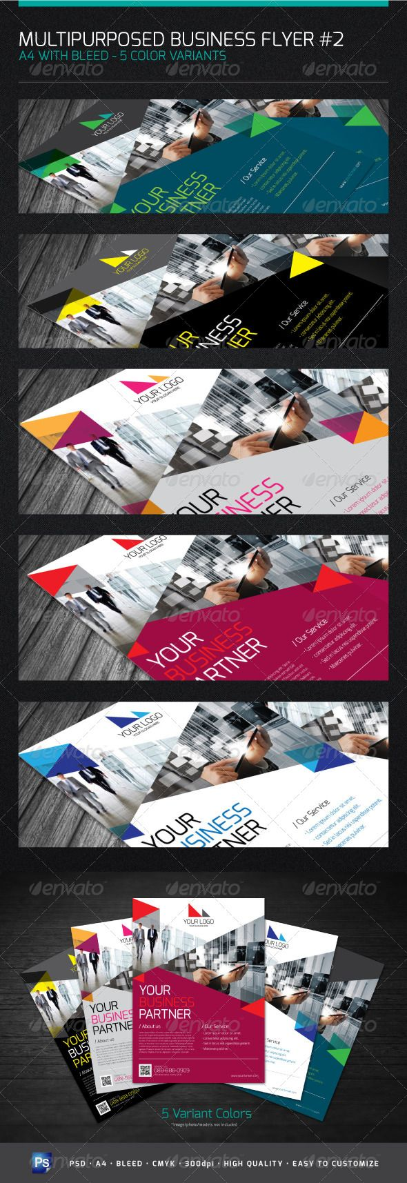 FLYER A4 - FOR MULTIPURPOSE BUSINESS#2 - Corporate Flyers