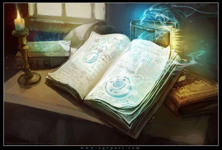 Spell Books by =Tsabo6