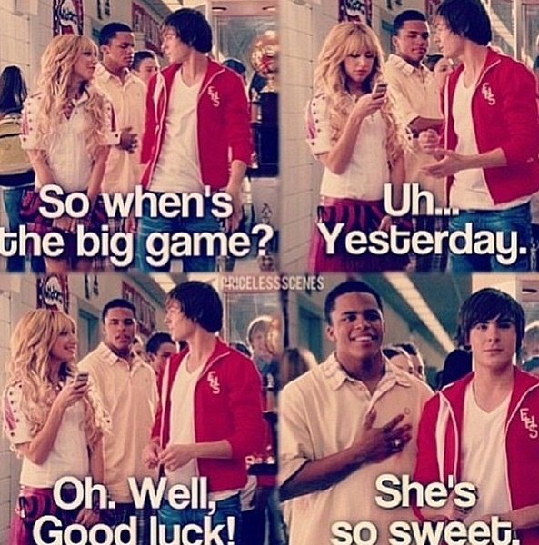 The actual best part is when Troy slaps him for saying that and we all know it❤️❤️