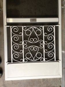 White Decorative Screen Door Protector Ianayris Com