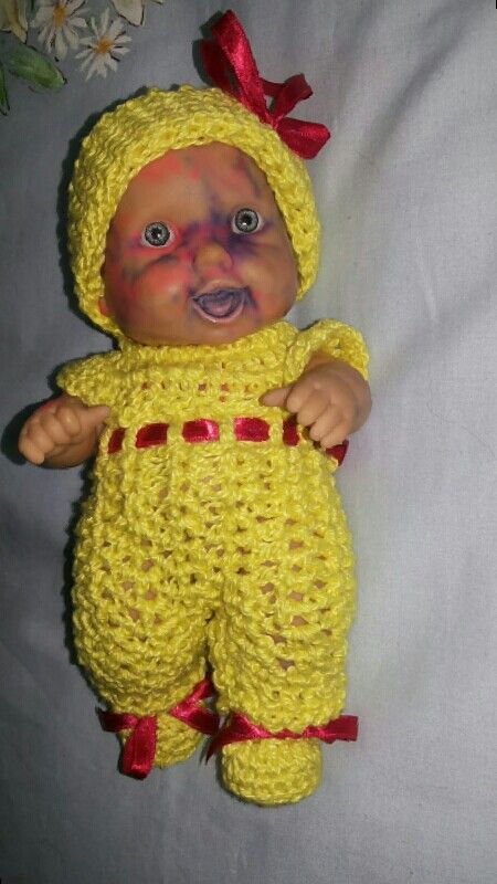 Mais uma bonequinha resgatada