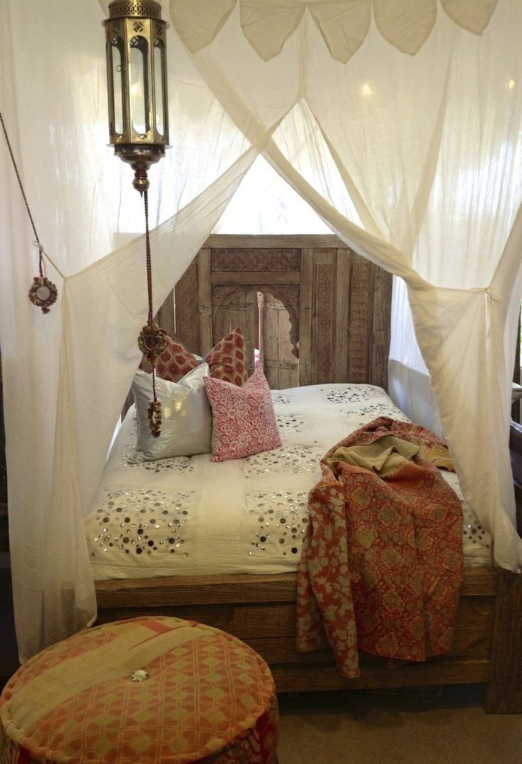 Make some canopiescanopy bed Moroccan lantern architecture