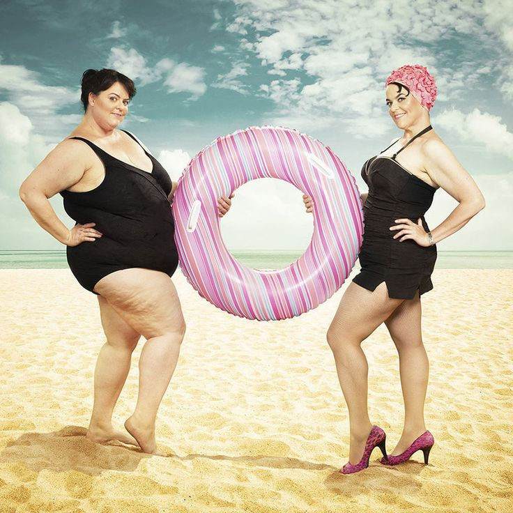 Woman shows off incredible weight loss in fun photo series  Beth came to her photographer friend, Blake Morrow, right before her gastric-bypass surgery with an interesting request. Beth wanted to do some creative pictures of her current body so she could superimpose herself on them when she shed the weight. Morrow was more than happy to oblige.  Two years and 150 pounds later, the pair got together for another photo shoot to show off her amazing transformation.  Morrow's website says that…
