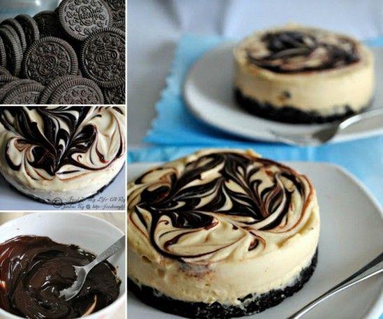 No Bake Baileys Cheesecakes