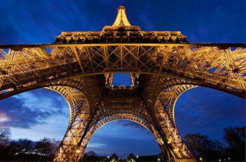 Wide Angle Photography Eiffel