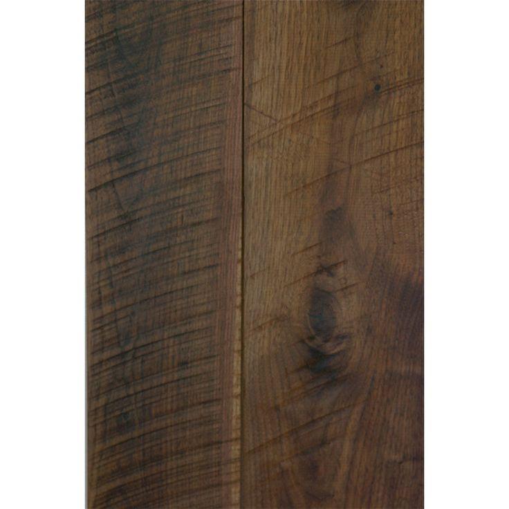 """Islander Flooring 5-1/6"""" Solid Bamboo Hardwood Flooring in Walnut"""