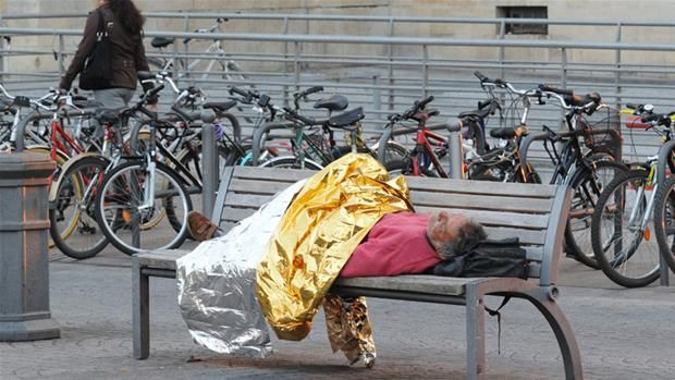 It is not good for turism if too many homeless people can be seen sleeping on the streets, trainstations and airports so a lot of effort is put into designing furniture and benches so people can rest their legs but not sleep on them.