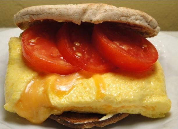 Healthy Summer Time (Or Anytime) Omelet Sammie/Sandwiches from Food ...