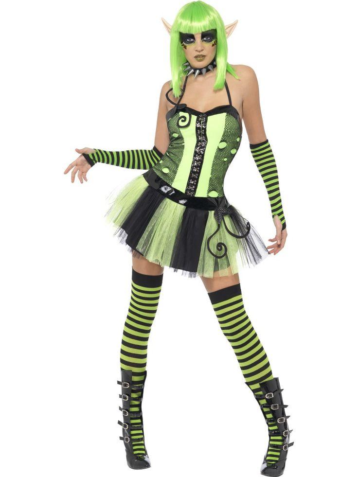Women's Tainted Garden Wild Ivy Elf Costume