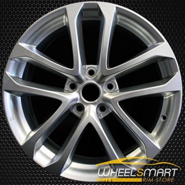 18 Nissan Altima Oem Wheel 2009 2013 Hypersilver Alloy Stock Rim 62521 Oem Wheels Nissan Altima Altima