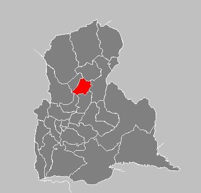 Ubicación geográfica Seboruco Estado Tachirá.