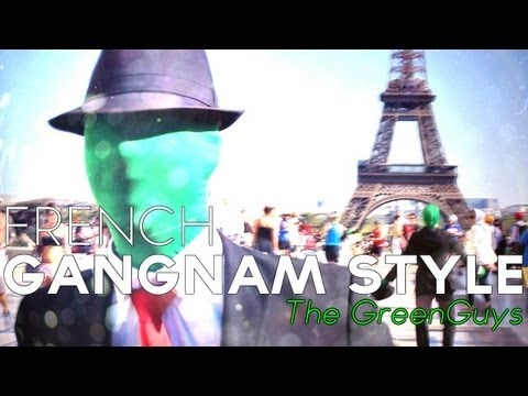 I was in the metro with them, I should've taken a pic with them! ... PSY - GANGNAM STYLE - FRENCH VERSION by TheGreenGuys