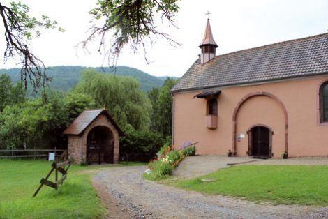 La chapelle Saint-Gangolphe de Schweighouse