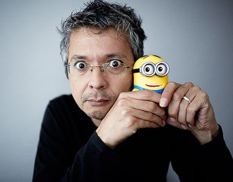 Pierre Coffin can be considered an authority on the minions, yes. Credit: anim.fourmirouge.org
