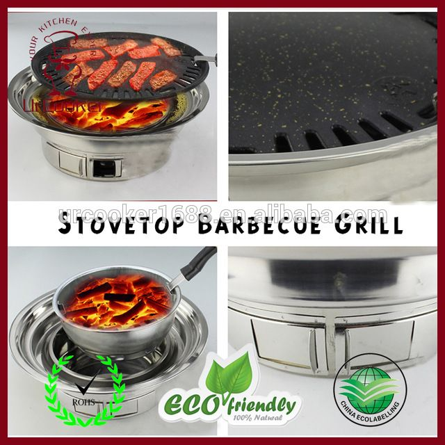 Source No smoking Korean electric BBQ grills with hot pot pan,korean bbq grill table on m.alibaba.com